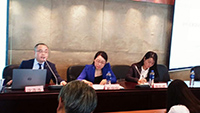 赵宁宁律师主持涉外民事业务沙龙活动